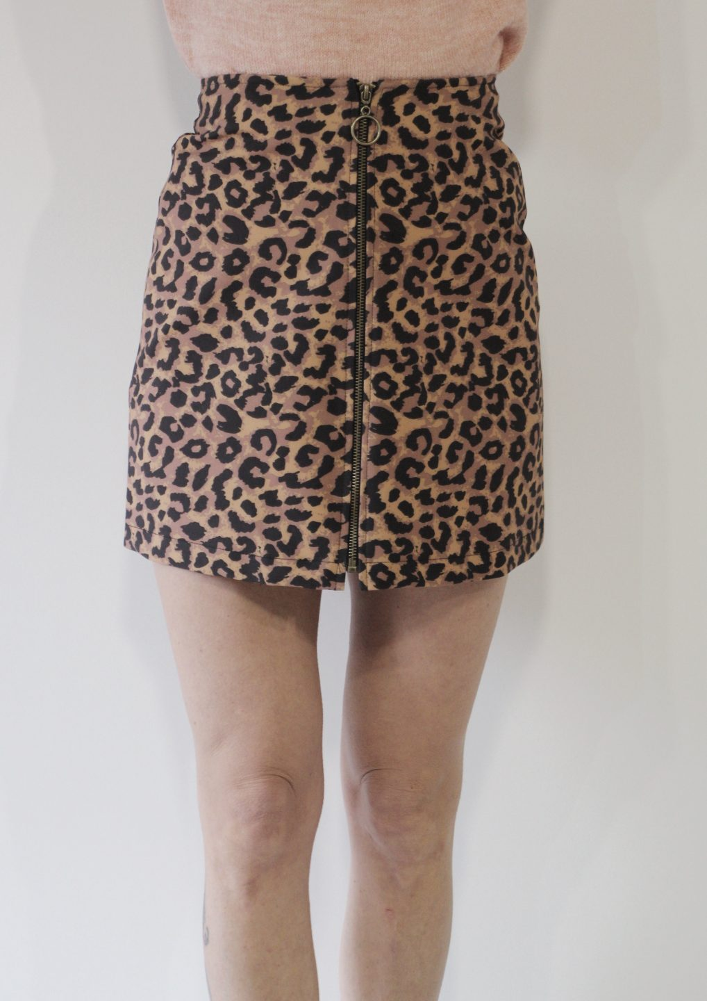 61d51fc37d It s Now Or Never Leopard Skirt - DayDreamers