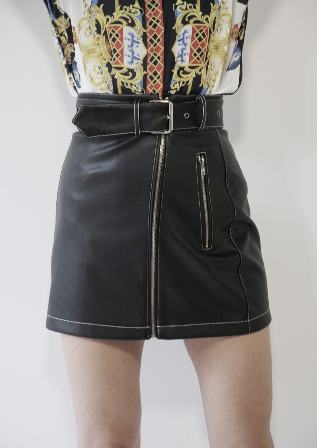 34360fb9b2 The Wild Ones Leather Skirt - DayDreamers